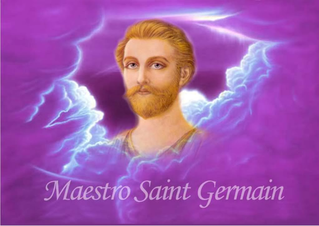 Saint Germain is the chohan of the seventh ray and master alchemist